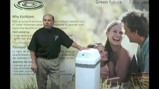Repeat youtube video Water Softener Central Water System EcoWater Canada  April2011
