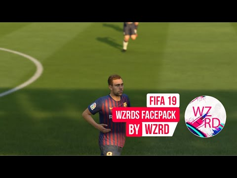 WZRDs FIFA 19 FACEPACK