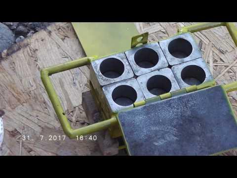 Smallest briquette press