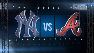 8/30/15: Yankees score 20 runs to sweep Braves