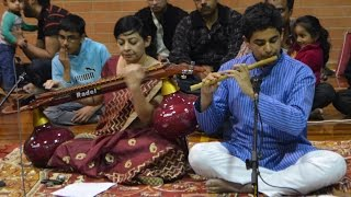 Flute and Veena Duo by Amrut and Sumana Oct 2015