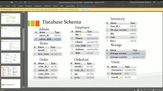 Database inventory management system