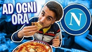 🍕🍝 MANGIO CIBO NAPOLETANO ad OGNI ORA per un GIORNO INTERO! 24h CHALLENGE