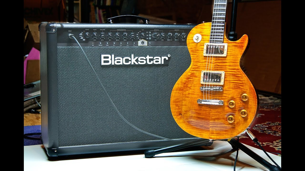 Blackstar ID:60 TVP - Quick Demo Of The Guitar I Finished Building - Spit Out The Bone