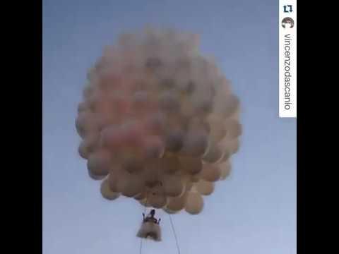 Воздушные шары на свадьбу! Невеста на шарах! приколы свадьба!