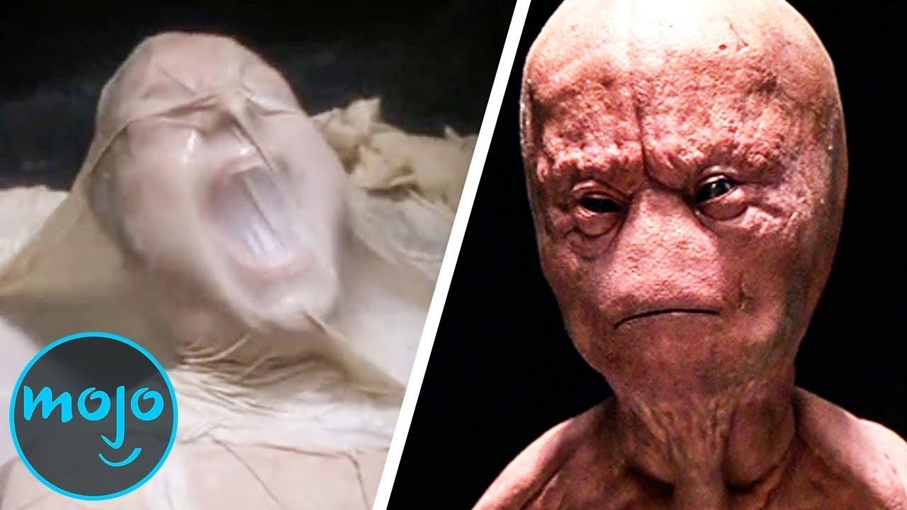 Top 10 Scariest Alien Abduction Experiment Scenes