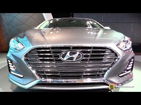 2018 Hyundai Sonata Limited Exterior and Interior Walkaround Debut at 2017 New York Auto Show