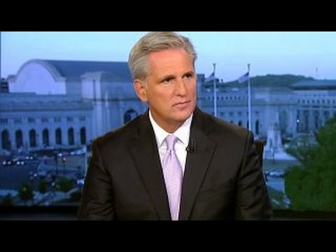 Kevin McCarthy: 'The culture in Washington has to change'