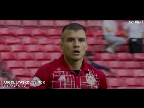 Angel Lyaskov  vs FC Copenhagen  Europa League Debut