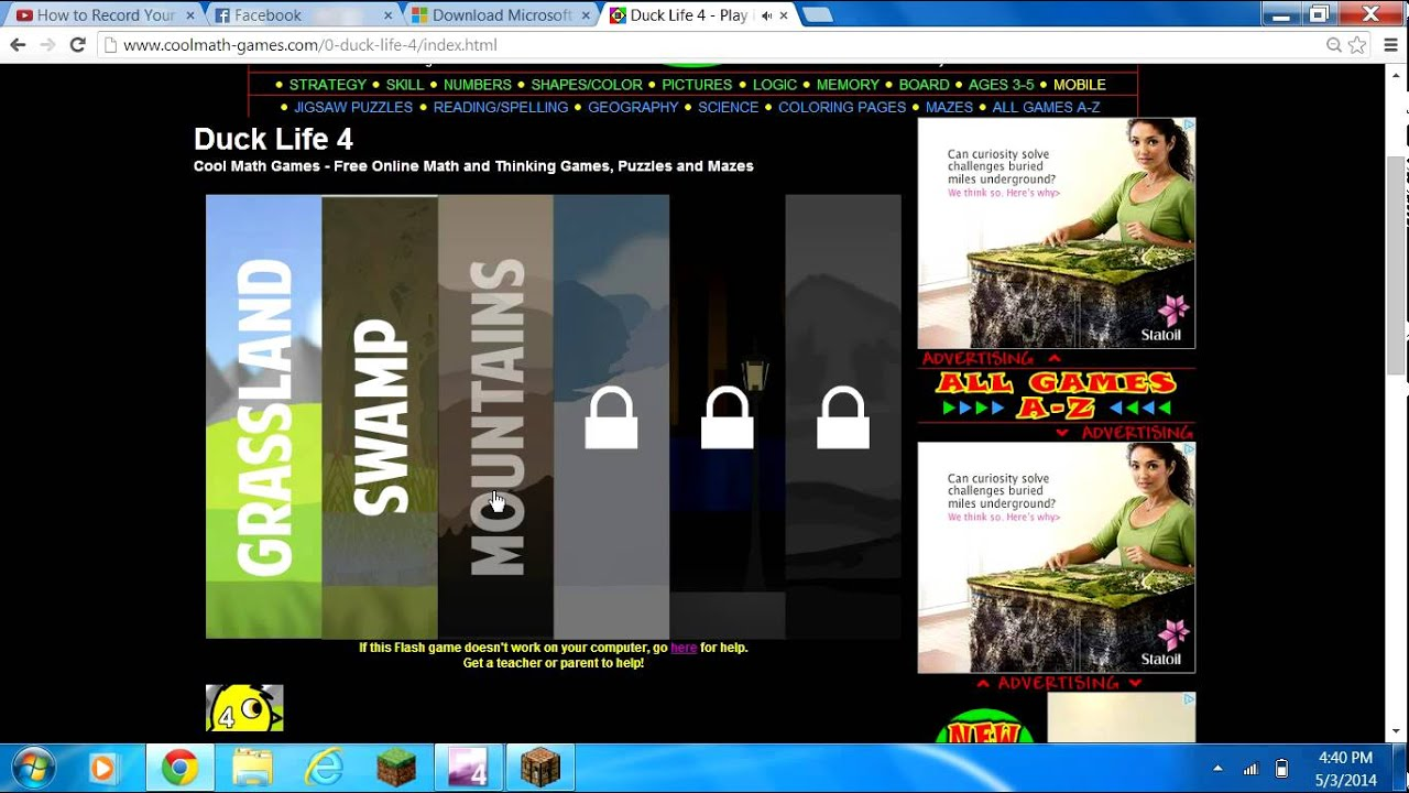 Minecraft and coolmath games com