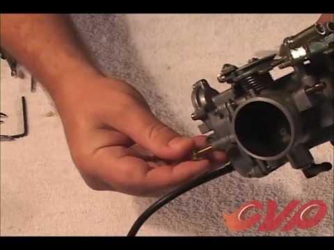 CV carburetor tuning part 2 Mixture screw adjustment - YouTube