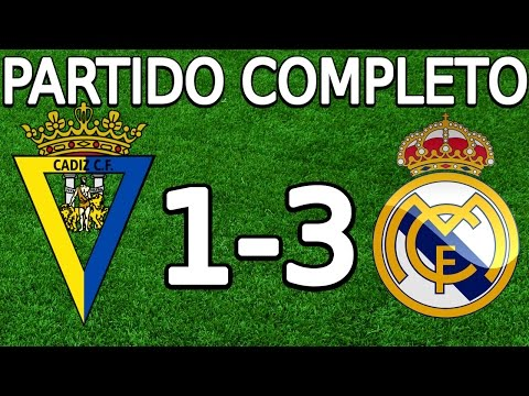Cádiz CF VS Real Madrid 1-3 partido completo 02.12.2015 HD (