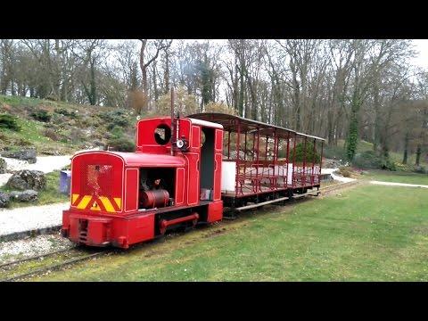 Dans le petit train du Parc Floral à Orléans... (mars 2017)