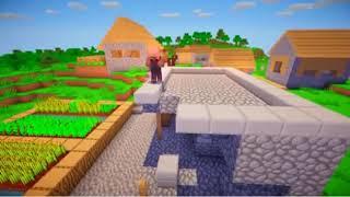 история жителей Minecraft Machinima