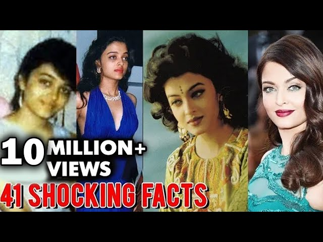 Aishwarya Rai 41 SHOCKING Facts That You Didnt Know | Happy Birthday Aishwarya Rai