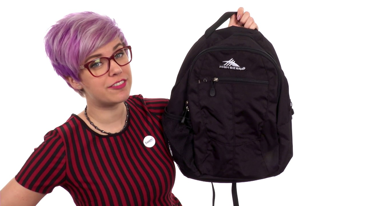 818a7b184 High Sierra Curve Daypack SKU::8250294 - YouTube
