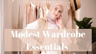 Top 10 Spring & Summer Hijabi Wardrobe Essentials!