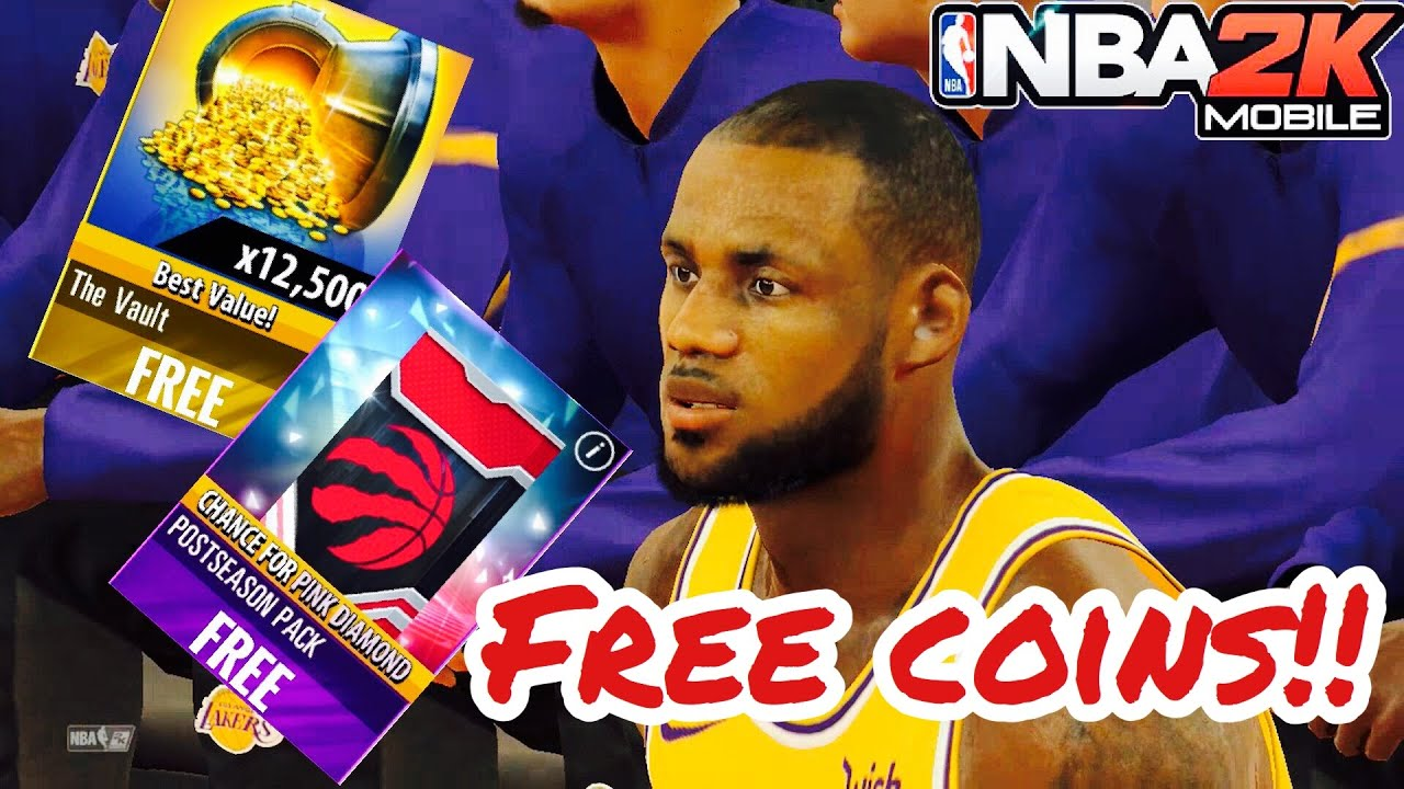 How To Get Free Coins and Packs In NBA 2K MOBILE ANDROID/IOS!!