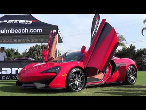 SuperCar Week  2016 Art & Technology of Speed & Desighn West Palm Beach Waterfront