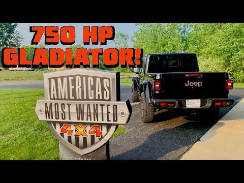 750 HORSEPOWER GLADIATOR?! Swapping a Hellcat into a 2020 Jeep JT!