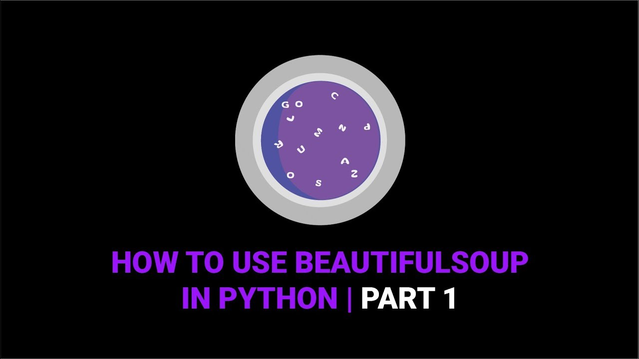 How To Use Beautiful Soup In Python | Part 1 - YouTube