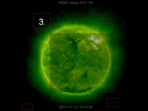 SOHO Images - Strange Objects Near Our Sun