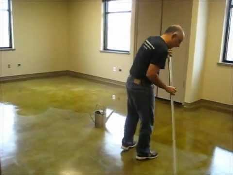 How To Apply Acrylic Floor Finish Youtube