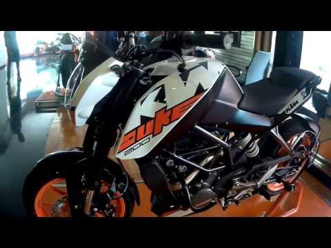 2017 KTM Duke 200 First Look
