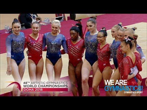 2018 Artistic Worlds – Women's Team Final, Highlights – We are Gymnastics !