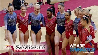 2018 Artistic Worlds – Women's Team Final, Highlights – We are Gymnastics !