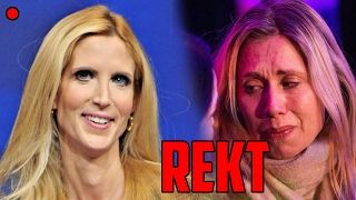 Ann Coulter Triggers A TON OF SJW Feminists On Live TV!!!