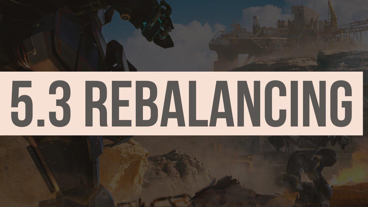 REBALANCING 5.3 INFORMATION - WAR ROBOTS - WR