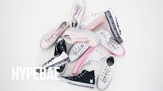 Miley Cyrus x Converse Collaboration Unboxing