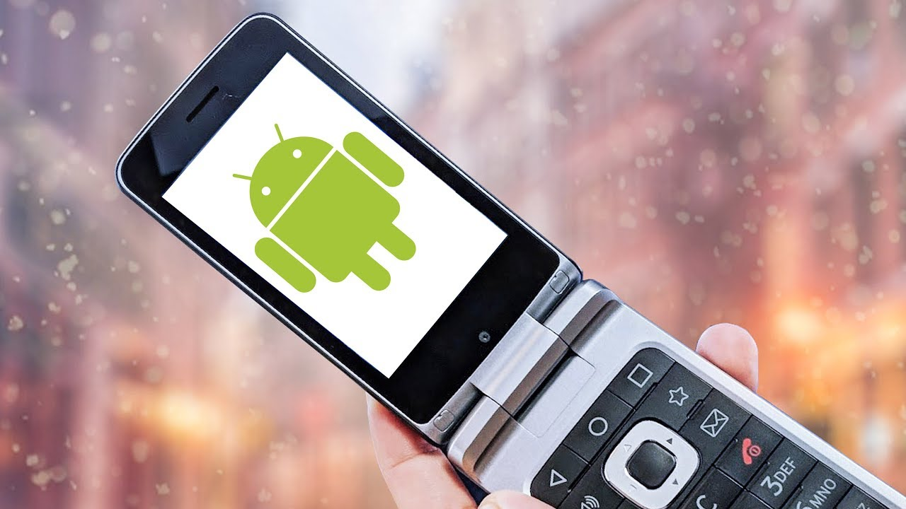 cc09d702e9ee46 Why Does an Android Flip Phone Exist  - YouTube