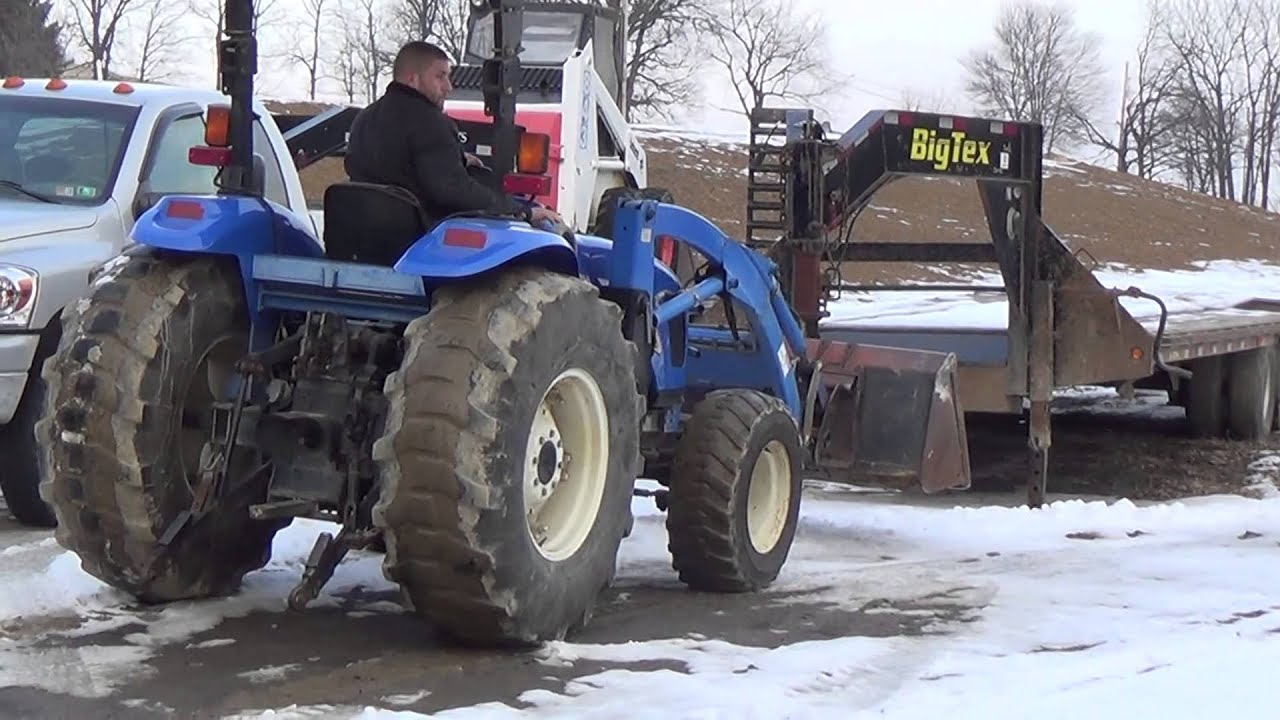 New Holland 75hp 4x4 Tractors : New holland tc da tractor with loader hp