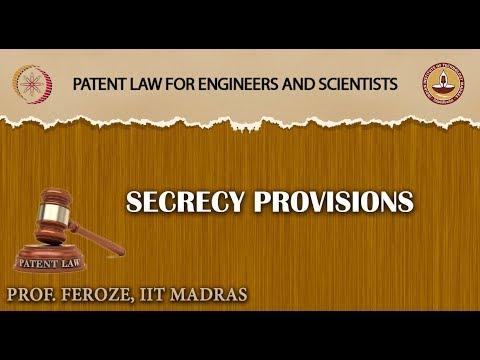 Secrecy Provisions