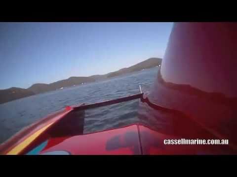 Paul Vella's Hydro Race Boat Impatient hitting 145MPH During the Cassell Marine Bridge to Bridge