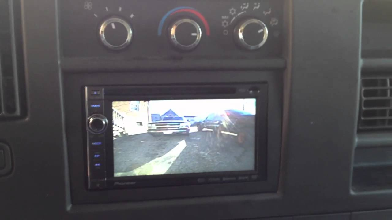 Chevy Express Van 2011 With Pioneer Avic X930bt Youtube