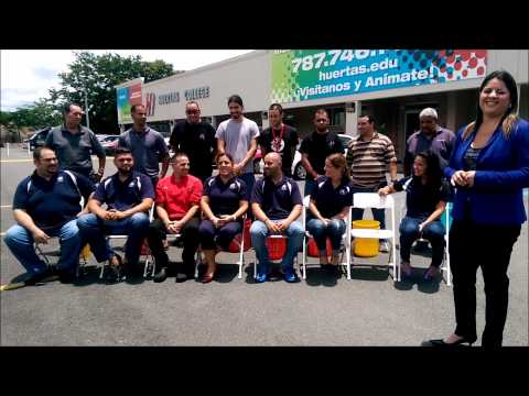 Huertas College ALS Ice Bucket Challenge