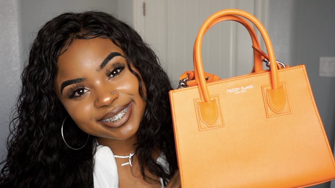 a789c592df UNBOXING FIRST IMPRESSION TEDDY BLAKE PURSE + STYLING - YouTube
