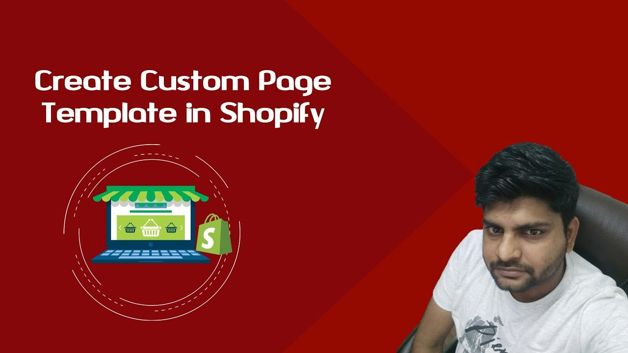 Create Shopify Custom Page Template Custom Template For Shopify - Shopify landing page template