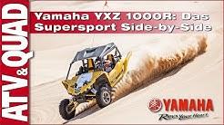 Test Yamaha YXZ 1000R: Das Supersport Side-by-Side