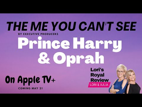 Prince Harry and Oprah Project on Apple TV+