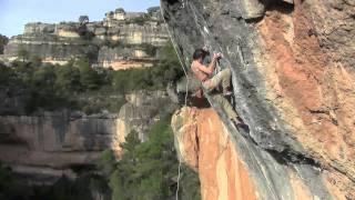 Enzo Oddo - La Rambla 9a+ (5.15a) at Siurana Spain