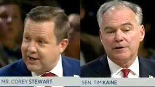 TIM KAINE vs COREY STEWART Virginia U.S. Senate Race Town Hall