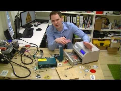 983A/986A Solder Paste Dispenser Workshop video