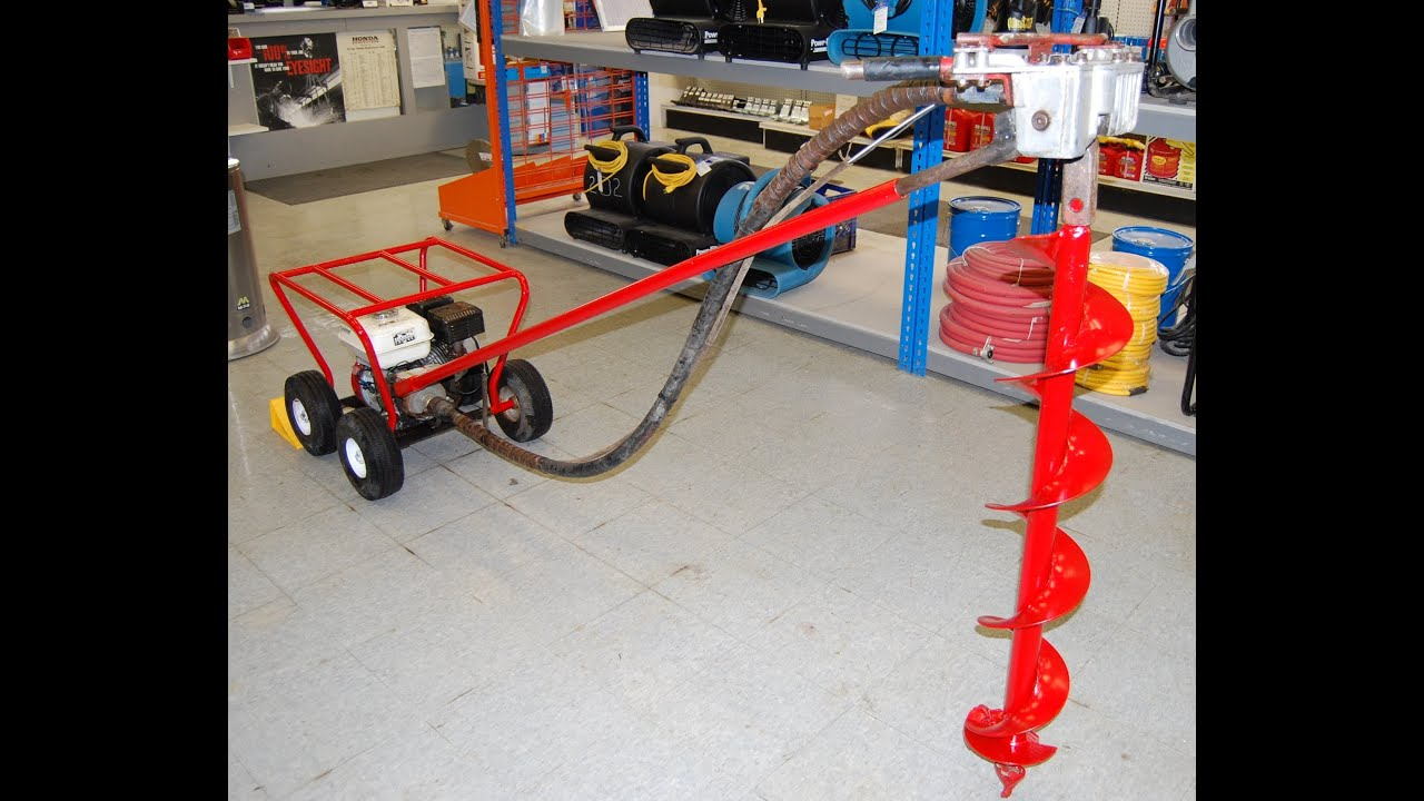 SOLD AS OF 10 25 Post Hole Digger for Sale Used Little Beaver with