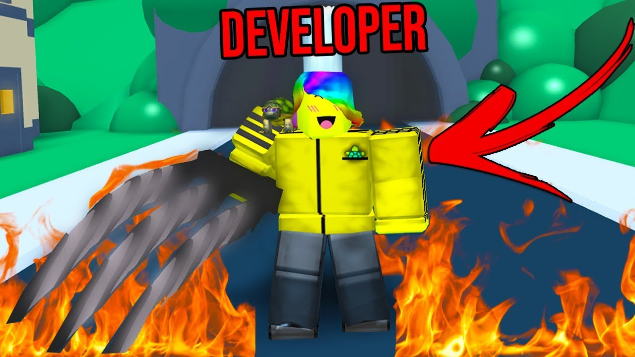 "The OWNER Joined And Gave Me DEVELOPER Rank.. ""Roblox Weapon Simulator"""