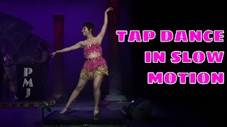 Video Tap Dancing in Slow Motion feat. Sarah Reich download MP3, 3GP, MP4, WEBM, AVI, FLV Desember 2017
