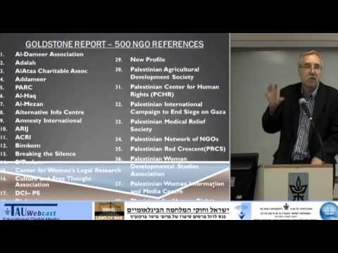 Prof. Gerald Steinberg,  Tel Aviv University Law Conference